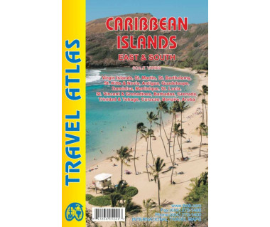 Caribbean Islands East & South travel atlas
