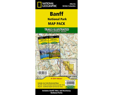 Banff National Park [Map Pack Bundle]
