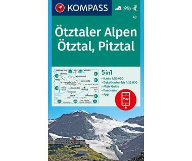 K 43 Otztaler Alpen, Otztal, Pitztal