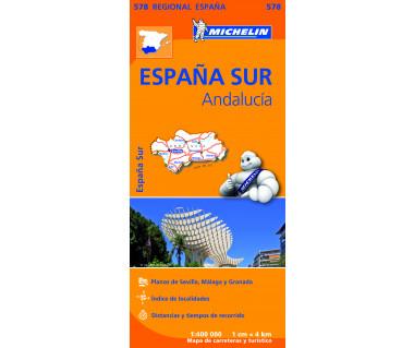 M 578 Espana Sur, Andalucia