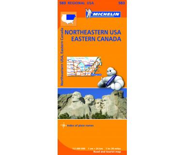 M 583 Northeastern USA, Eastern Canada