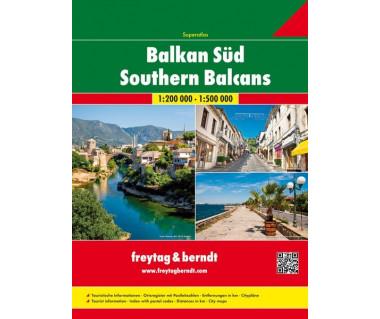 Balkan Sud/Southern Balcans Superatlas