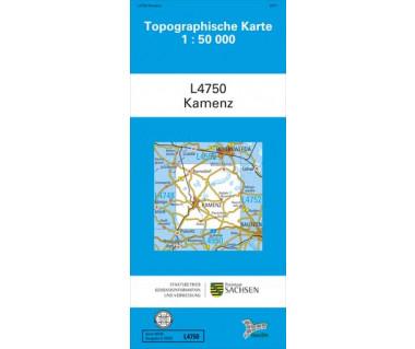 L4750 Kamenz 1:50.000
