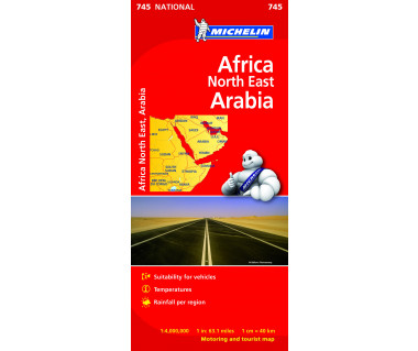 Africa North East, Arabia (M 745)