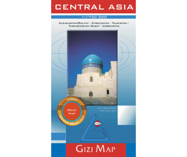 Central Asia (road map)
