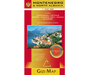 Montenegro & North Albania (geographical)