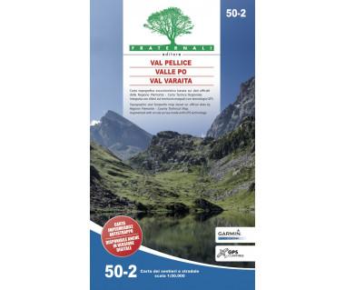 50-2 Val Pellice, Valle Po, Val Varaita