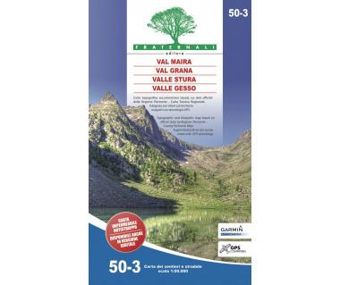 50-3 Val Maira, Val Grana, Valle Stura, Valle Gesso