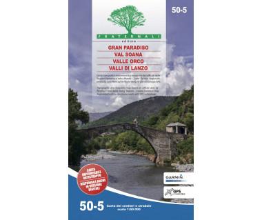 50-5 Gran Paradiso, Val Soana, Valle Orco, Valli di Lanzo