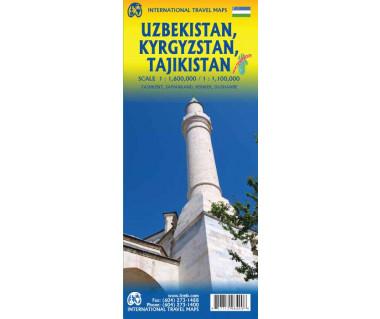 Uzbekistan, Kyrgyzstan, Tajikistan