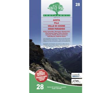 28 Aosta - Pila - Valle di Cogne - Gran Paradiso