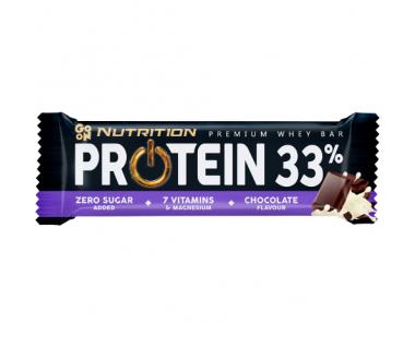 Baton GO ON! Nutrition Protein Bar 33% Chocolate 50g