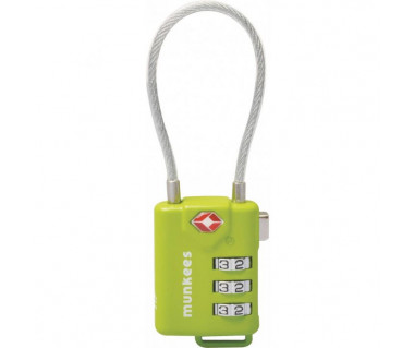 Brelok Munkees Kłódka Cable Combination Lock 3608