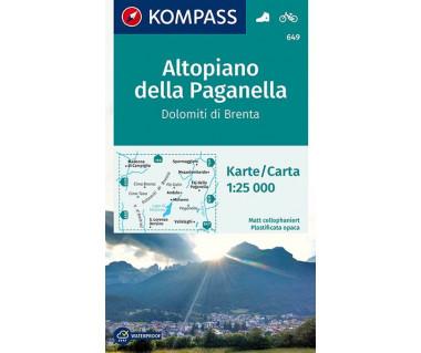 K 649 Altopiano della Paganella, Dolomiti di Brenta