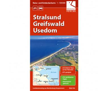 Stralsund - Greifswald - Usedom (Blatt 704)