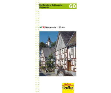 60 Bad Berleburg - Bad Laasphe - Hilchenbach 1:25.000 Landkarte