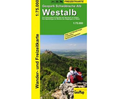 Geopark Schwäbische Alb: Westalb 1:75.000