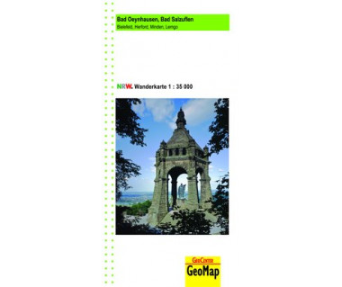 Bad Oeynhausen - Bad Salzuflen Wanderkarte 1:35.000