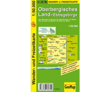 Oberbergisches Land 1:50.000