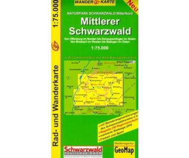 Mittlerer Schwarzwald 1:75.000