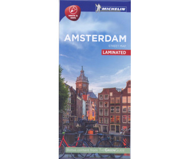 Amsterdam - Street Map (laminated)