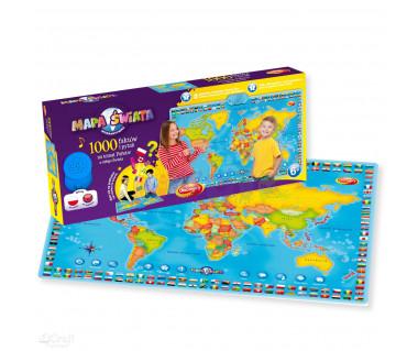 Interaktywna mapa świata