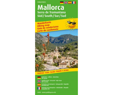 428 Mallorca - Serra de Tramuntana Sur/Süd /South/Sud