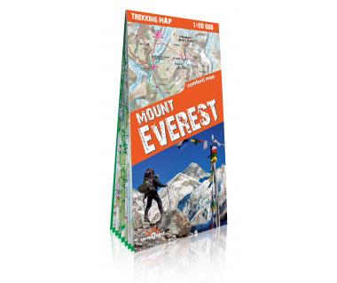 Mount Everest trekking map