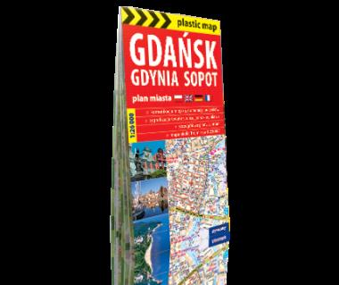 Gdańsk, Gdynia, Sopot plan foliowany