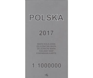 Polska mapa kolejowa