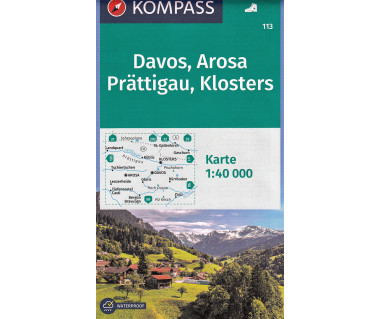 K 113 Davos, Arosa, Prattigau, Klosters