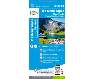 IGN 3336 ET Les Deux Alpes / Olan / Muzelle / PN des Ecrins