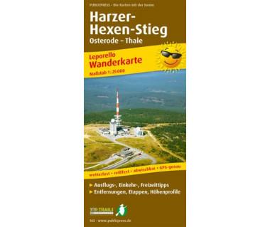 165 Harzer Hexen-Stieg, Osterode - Thale
