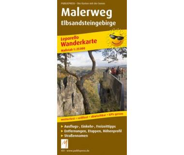 451 Malerweg Elbsandsteingebirge