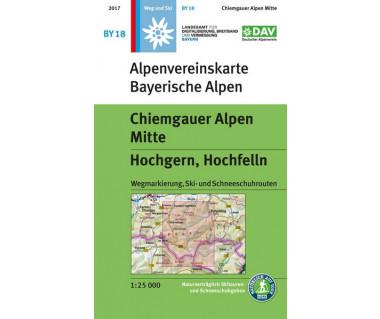 Chiemgauer Alpen Mitte (BY18)