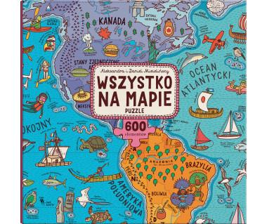Puzzle Wszystko na mapie