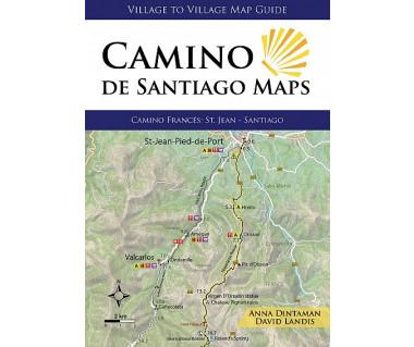 Camino de Santiago - Camino Frances (Maps)