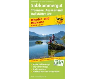 1522 Salzkammergut, Traunsee, Ausseerland, Hallstätter See