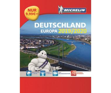 Deutschland & Europa 2019/2020 Straßenatlas