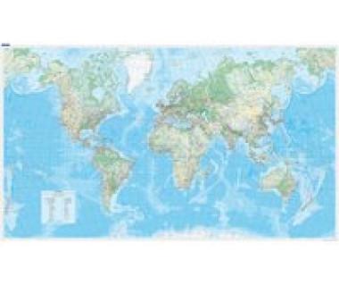 Welt physikalisch 1:30 000 000