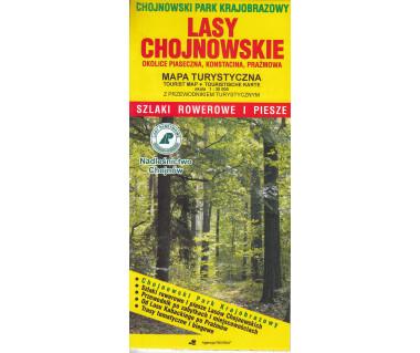 Lasy Chojnowskie szlaki rowerowe i piesze