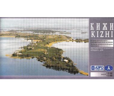 Wyspa Kiży mapa turystyczna