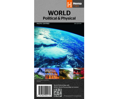 World Political (Pacific Centered)