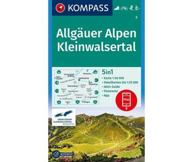K 3 Allgauer Alpen, Kleinwalsertal