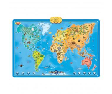 Interaktywna mapa zwierzęta świata