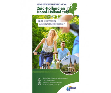 Zuid-Holland and Noord-Holland south bicycle junction maps