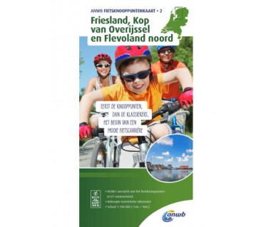 Friesland, Kop van Overijssel & Flevoland North bicycle junct
