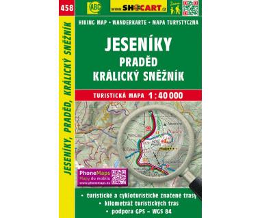 CT40 458 Jeseniky, Praded, Kralicky Sneżnik