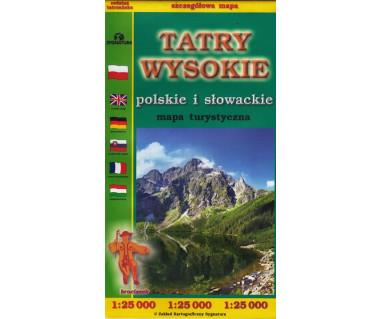 Tatry Wysokie (słowackie i polskie)