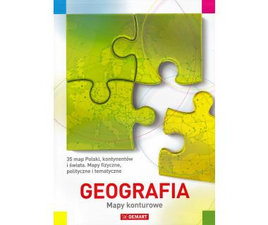 Geografia. Mapy konturowe